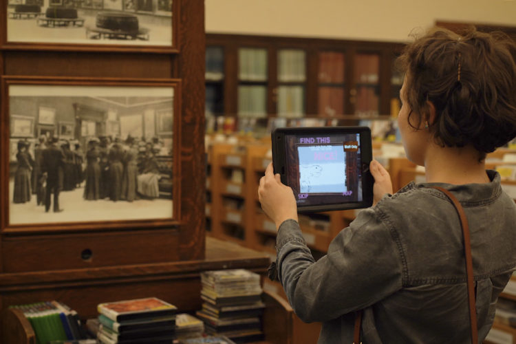 Take an augmented reality tour of Pittsburgh's main library with Carnegie's Monocle -- check out the video here
