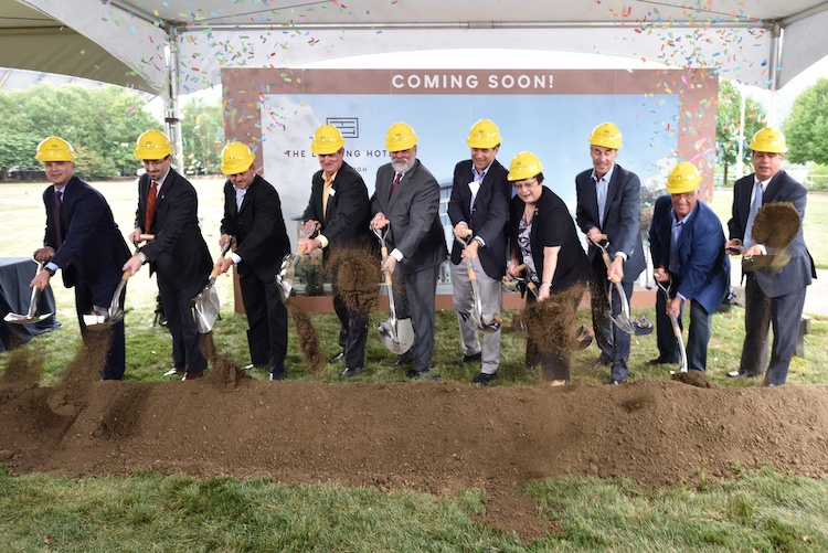 Rivers Casino breaks ground on $60 million Landing Hotel