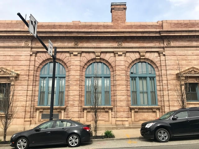 Desmone Architects seeks historic designation for bank building in Lawrenceville
