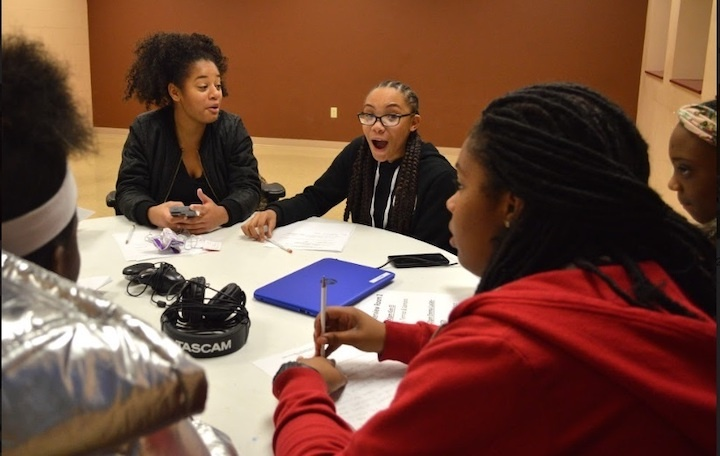Girl Talk: Voices of the Hill District features strong Black women interviewed by strong Black girls