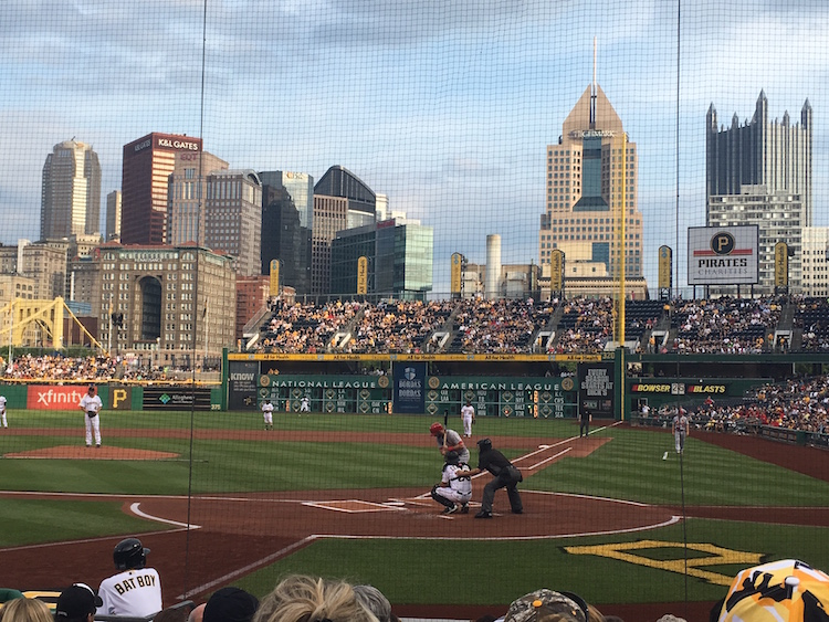 PNC Park, one of the top ballparks in the country. TH Carlisle