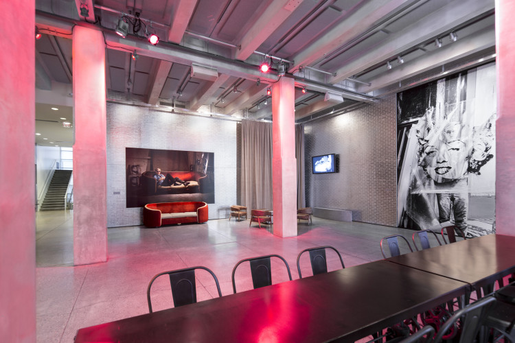 Lobby Space. The Andy Warhol museum