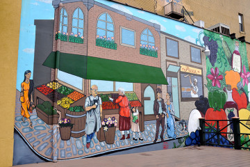 Bloomfield mural. Photo by Tracy Certo