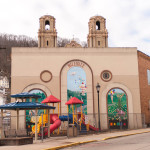 Playground in the heart of Millvale. Photo by Kate Buckley.