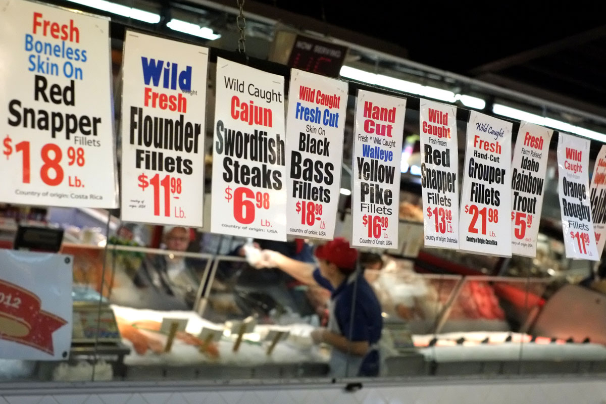 The next guide to the strip district for Wholey s fish market