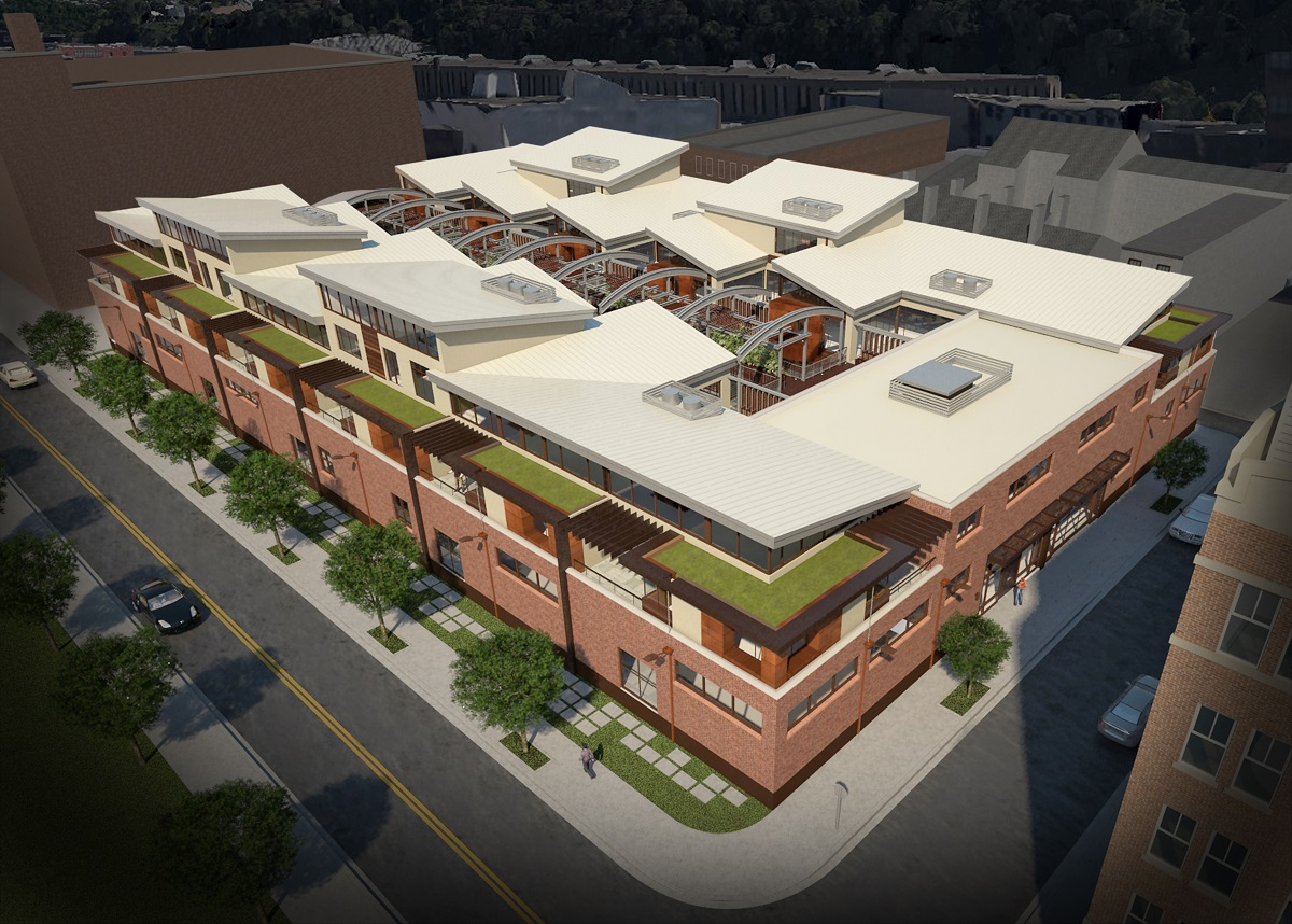 2500 Smallman Will Offer Pittsburgh S Most Luxurious Townhomes
