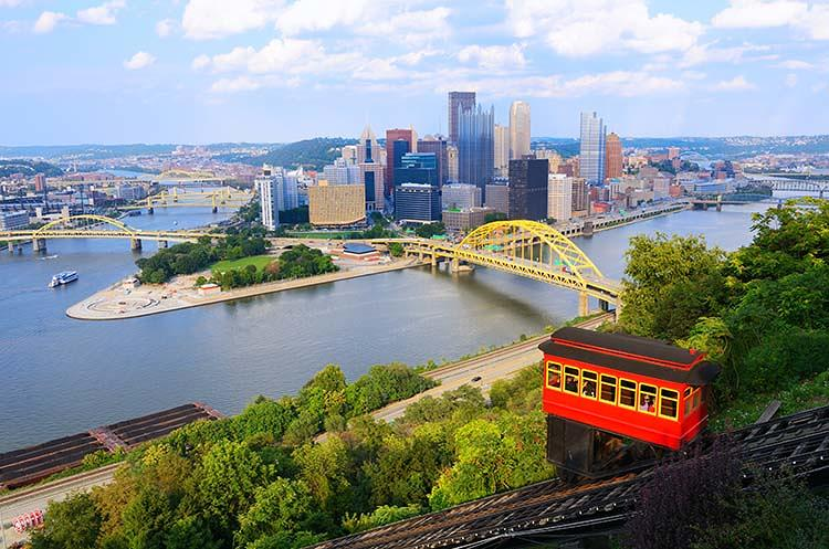 pittsburgh skyline mt. washington