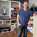 Thomas West, co-owner of Trim Pittsburgh, in his shop on Baum Blvd.