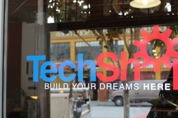 TechShop in Bakery Square, site of Obama's visit on Tuesday
