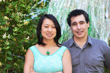 Vananh Le and David Saiia