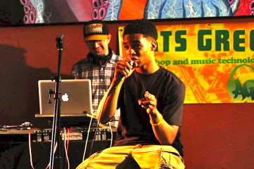 CMU's Arts Greenhouse gives kids a chance to write and perform their own hip hop while learning about college life.