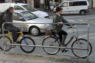 cycling infrastructure in Copenhagen. Photo by Jan M. Olsen courtesy of AP Photo