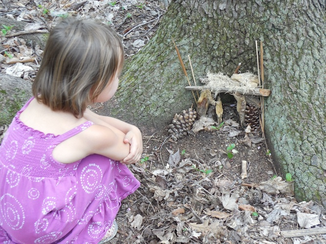 Nature hiking is fun at Pittsburgh Botanic Gardens. Photo by Erica Gidley.