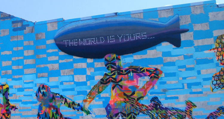 Mural in Braddock. Photo by Brian Cohen.
