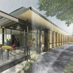 The Frick Enviornmental Learning Center design provided by the Pittsburgh Parks Conservancy