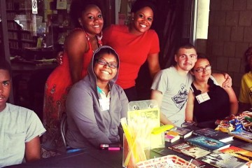The Knoxville teen advisory board.