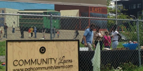 Community Lawn opens in East Liberty. NEXTpittsburgh photo.