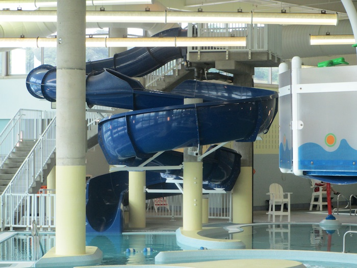 The Aquatics Center at the Upper St. Clair Recreation Center