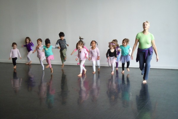 Classes from Dance Alloy at the Kelly Strayhorn Theater.