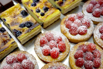 French pastry from La Gourmandine. Photo by Brian Cohen.