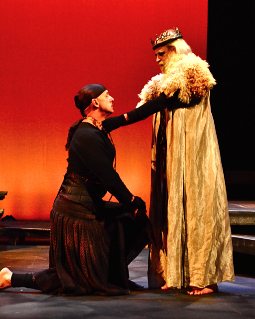 the fall of lady macbeth Lady macbeth - macbeth's wife, a deeply ambitious woman who lusts for power and position early in the play she seems to be the stronger and more ruthless of the two, as she urges her husband to kill duncan and seize the crown.