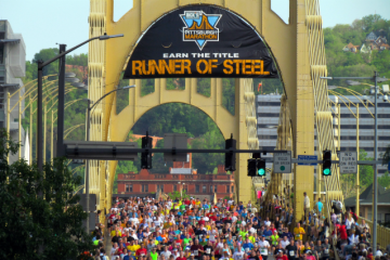 The 2014 Pittsburgh Marathon