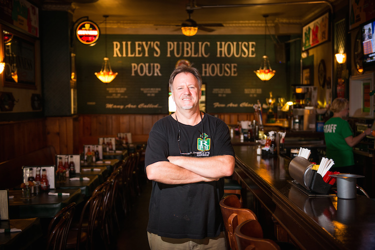 Riley's Pour House. Photo by Rob Larson.