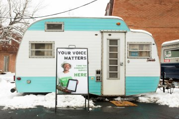 Survey Camper. Photo by Larry Rippel