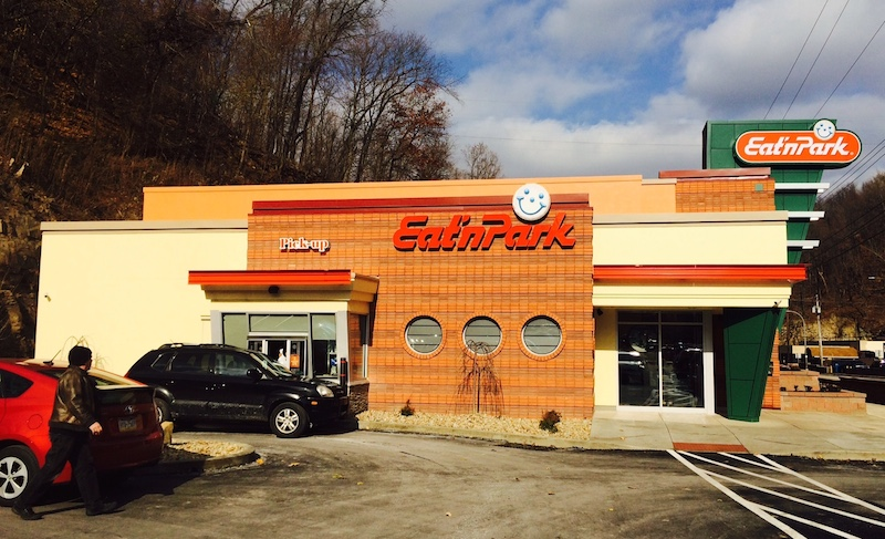 The new Eat n' Park on Banksville Rd. NEXTpittsburgh photo