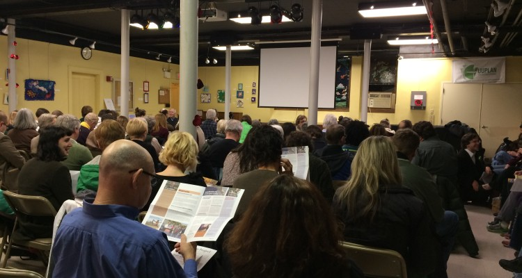 The Clean Air Forum was standing room only.
