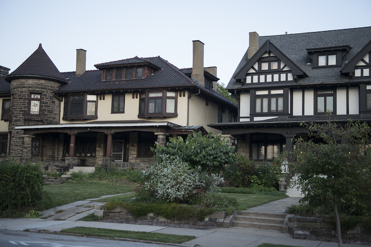 Great architecture in Highland Park. Photo by Erika Gidley