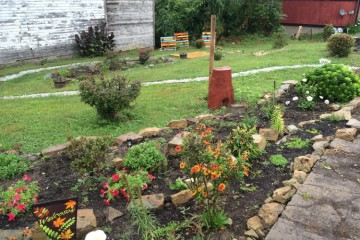 The Unified Positive Effect Garden, Beltzhoover. Photo courtesy of GTECH.