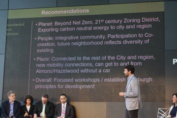 Recommendations at the p4 conference. Photo by TC.