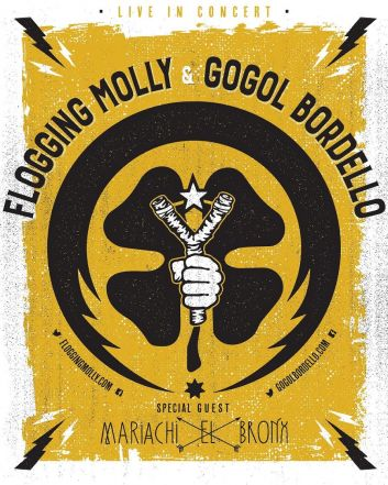 flogging molly gogol bordello concert poster