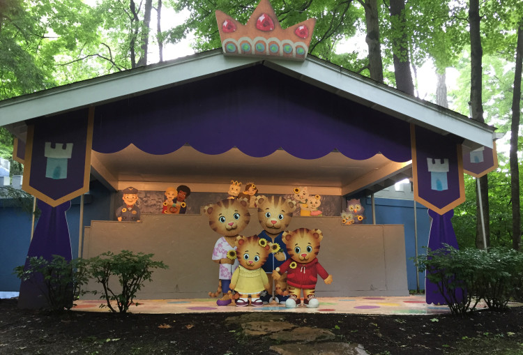 Experience a musical trolley ride through Daniel Tiger's Neighborhood. Photo courtesy Idlewild.