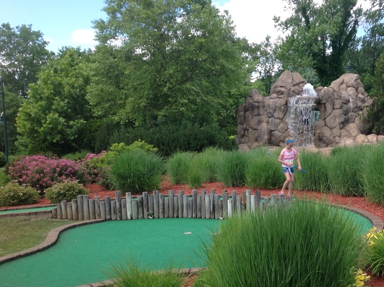 Get a hole-in-one at mini golf spots around the city. Photo courtesy Jim Cichra.