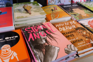 Local books at Copacetic. Photo by Brian Cohen.