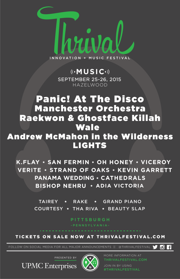Thrival 2015 Music Line-Up
