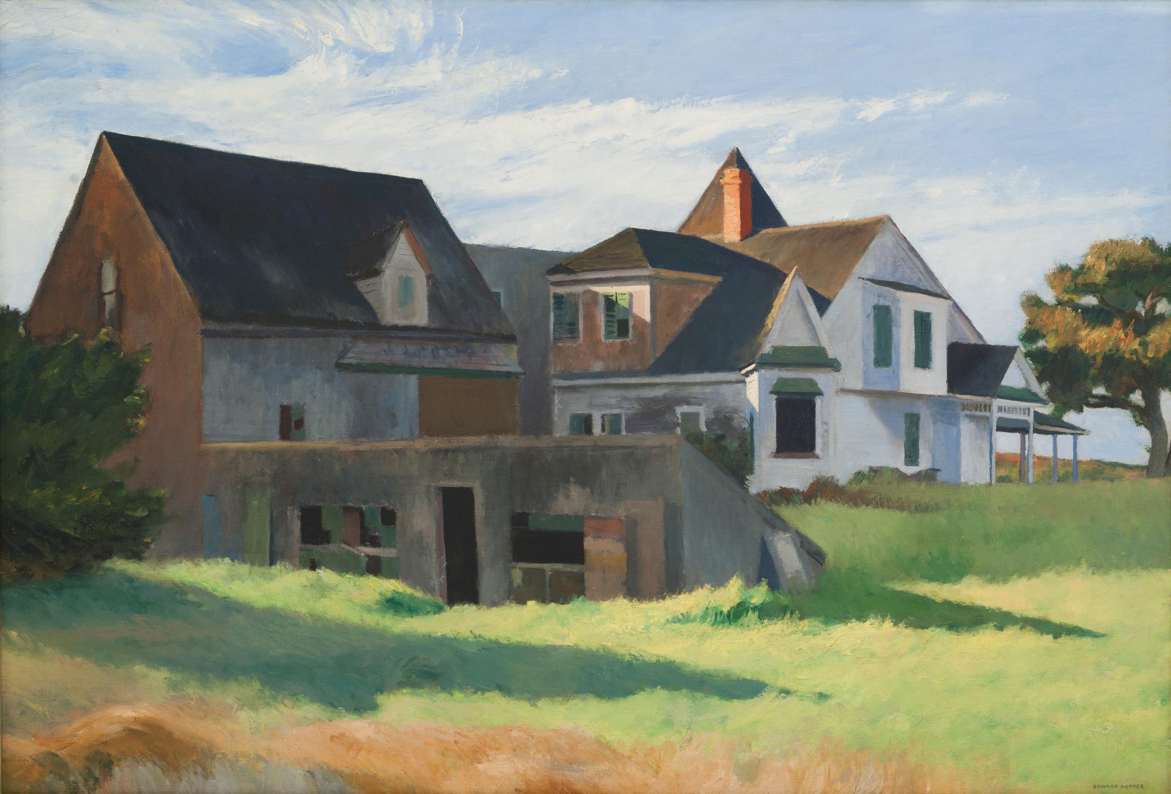 Edward Hopper, Cape Cod Afternoon, 1936. Courtesy of Carnegie Museum of Art.