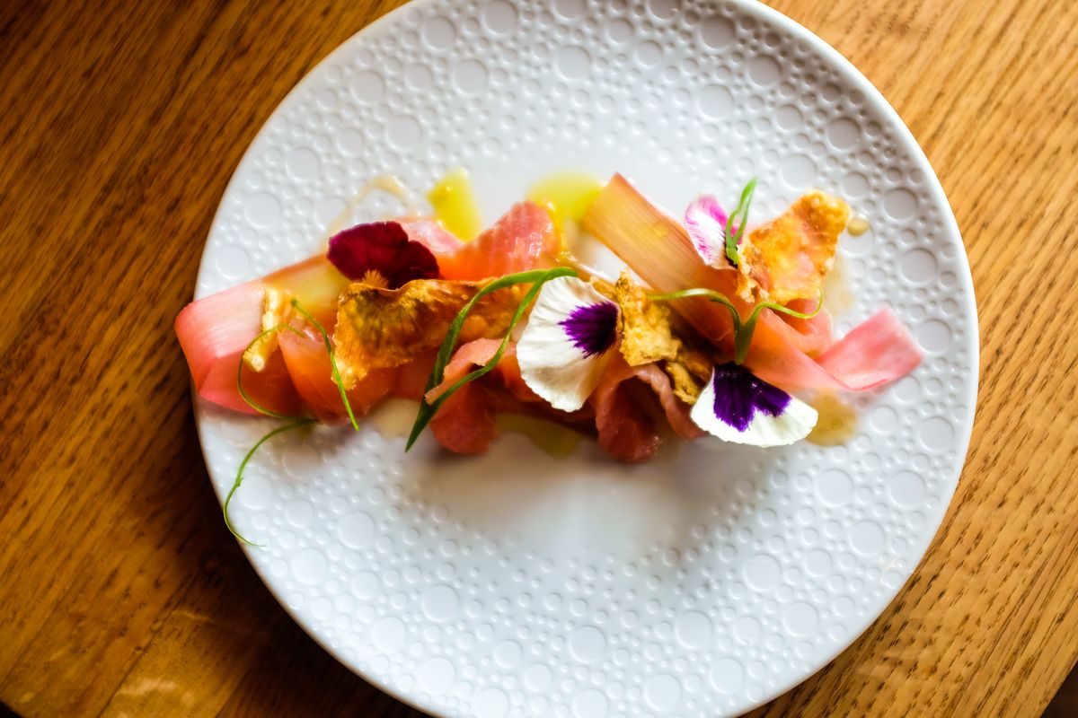 Cure's cured trout. Photo by Eater.