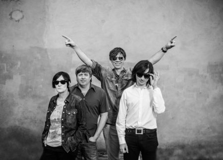 Thurston Moore Band. Photo courtesy Matador Records.