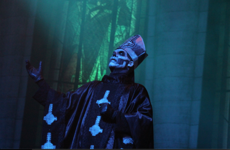 Ghost at Stage AE, 2014. Photo by Brian Conway.