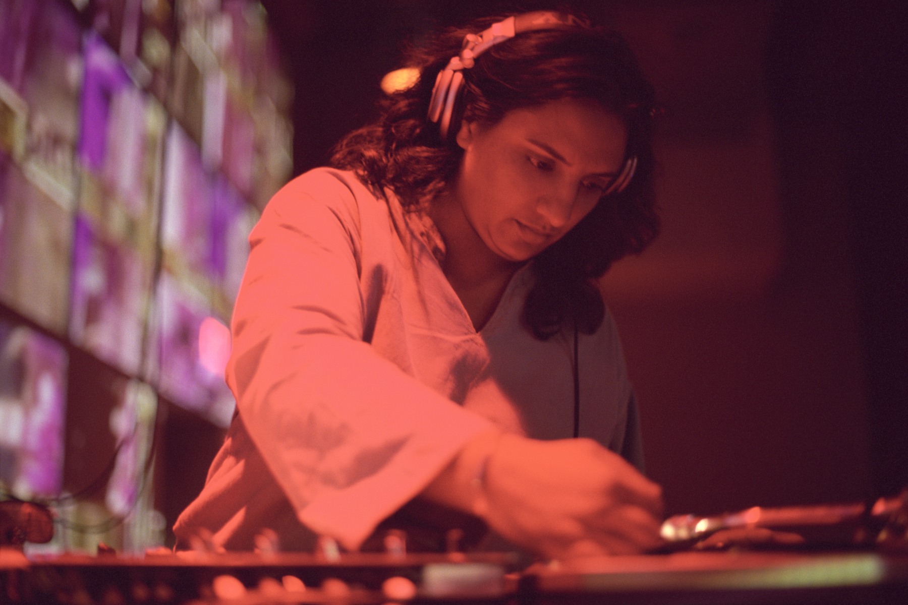 DJ Rekha. Photo by Nisha Sondhe.