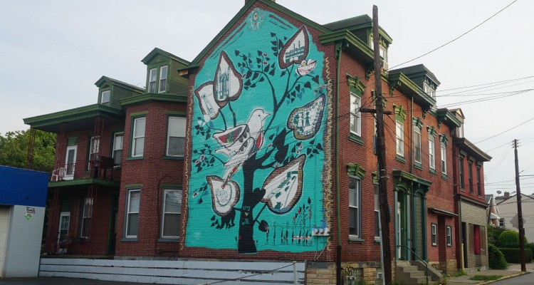 The mural in the heart of Troy Hill. Photo by TC
