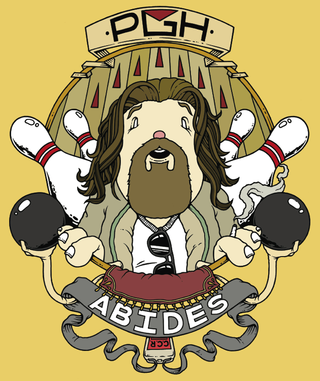 Pgh Abides poster by Mike Budai.