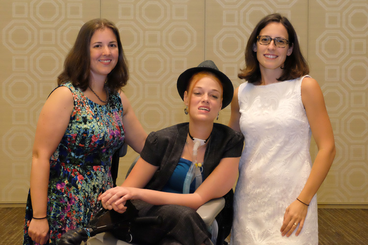 2015 ATHENA Young Professional Award (AYPA) Finalists (L to R): Aurora Sharrard, Josie Badger and Meredith Meyer Grelli