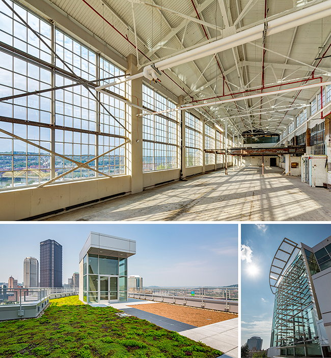The Energy Innovation Center in the Hill District. Courtesy AIA Pittsburgh.