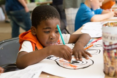 Family Day arts and crafts. Photo courtesy The Mattress Factory.
