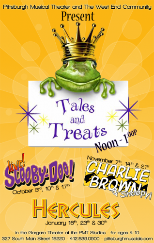 Tales and Treats, part of the Pittsburgh Musical Theater. Photo courtesy PMT.