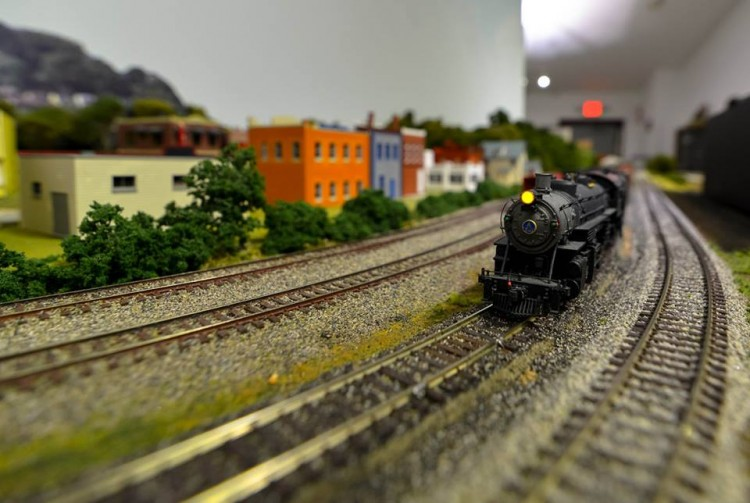 Holiday Show at the Western Pennsylvania Model Railroad Museum. Photo courtesy WPMRM.